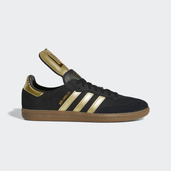 Monografía Ligeramente adolescentes  adidas LAFC Samba Shoes - Black | adidas US
