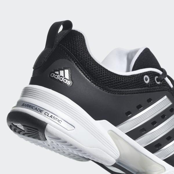 new style e1093 30021 adidas Barricade Classic Wide 4E Shoes - Black  adidas US