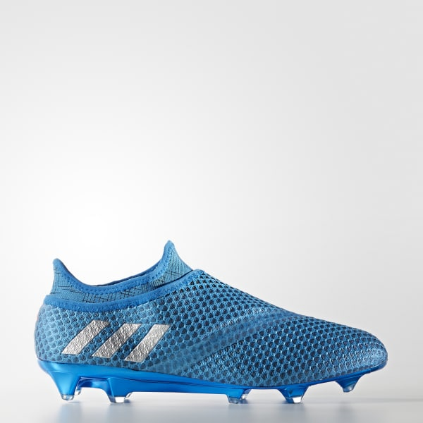 50c791679 adidas Men s Messi 16+ PUREAGILITY Firm Ground Boots - Blue