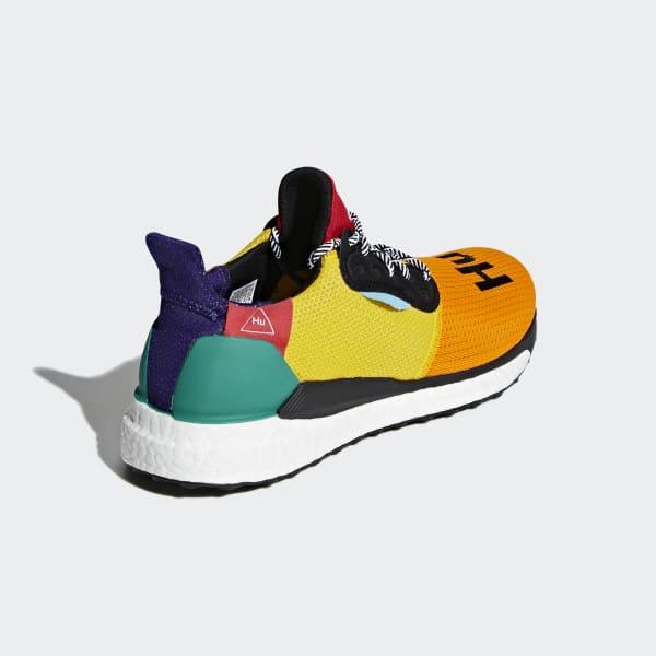 outlet store 92b42 17ccc adidas Pharrell Williams x adidas Solar Hu Glide Shoes - Black  adidas US