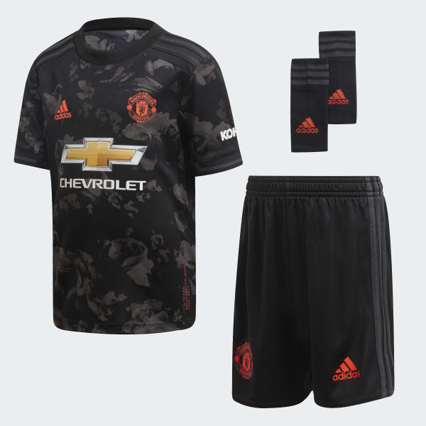 adidas manchester united third mini kit black adidas uk manchester united third mini kit