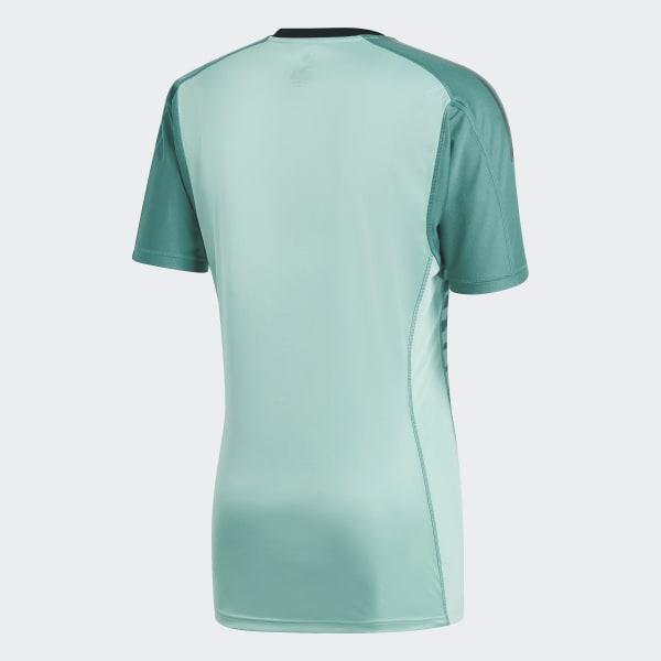Camisa Oficial Goleiro Espanha 1 2018 - Verde adidas  ceca0ea3dbcea