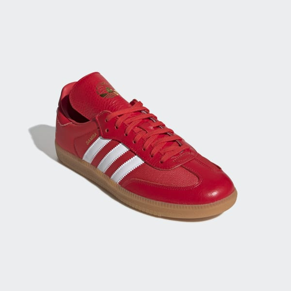4fb765551 adidas Oyster Holdings Samba OG Shoes - Red | adidas Switzerland