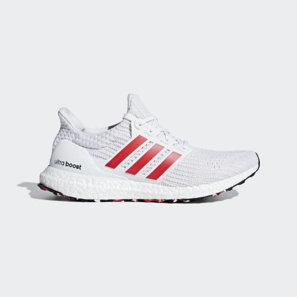 adidas ultra boost hvit and rosa