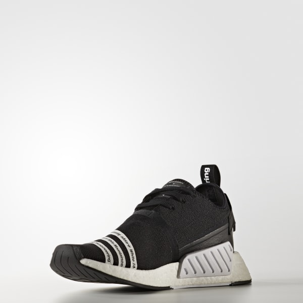 a46106ff78187 adidas White Mountaineering NMD R2 Shoes - Black