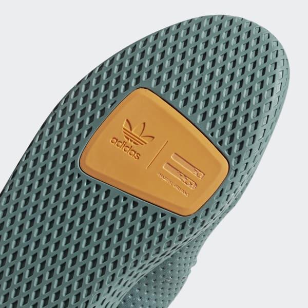the best attitude 9b466 74c42 adidas Pharrell Williams Tennis Hu Shoes - Green  adidas Bel