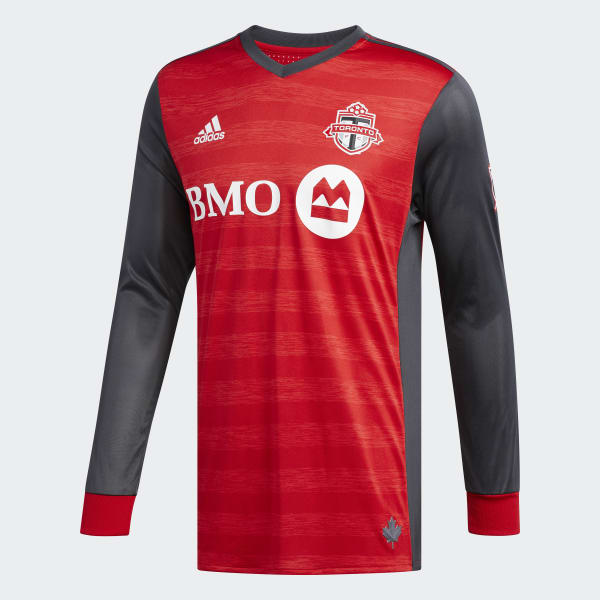 0be4b640ac466f adidas Toronto FC Home Authentic Jersey - Red   adidas Canada