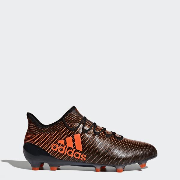 sports shoes 5b214 1a5a9 Chaussure X 17.1 Terrain souple Core Black   Solar Red   Solar Orange S82288