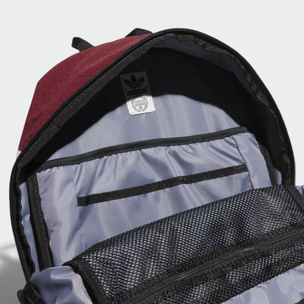 adidas National Backpack - Red  665faf0bd55f9