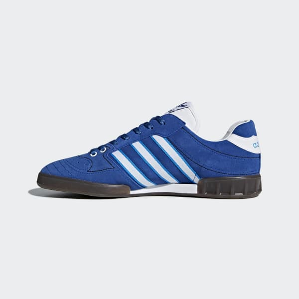 Handball Kreft Spezial Leather-trimmed Suede Sneakers - Royal blueadidas Originals