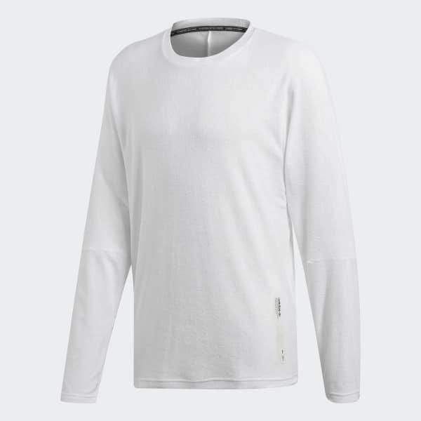 Details about adidas ORIGINALS NMD LONG SLEEVE T SHIRT GREY TEE TOP MEN'S COTTON CREW NECK NEW