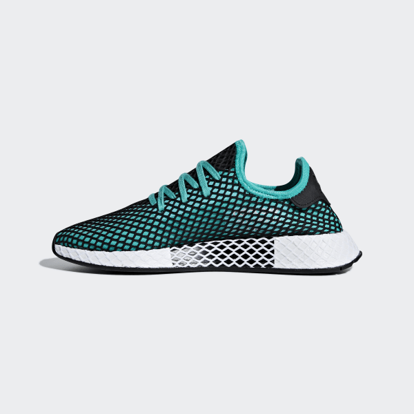 newest 20527 08571 Chaussure Deerupt Runner Hi-Res Aqua  Hi-Res Aqua  Core Black B41775