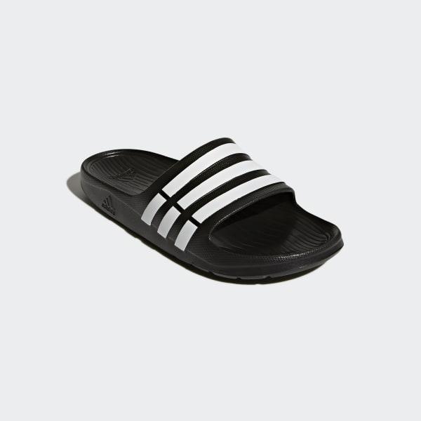 77c2b3a3f adidas Duramo Slides - Black