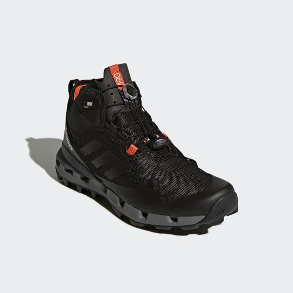 0ccd9fcf505 adidas TERREX Fast Mid GTX-Surround Shoes - Black | adidas Turkey