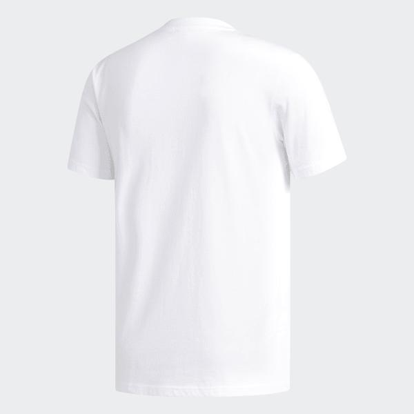 Polera Marble Pocket - Blanco adidas  ff776ed7cf6dd