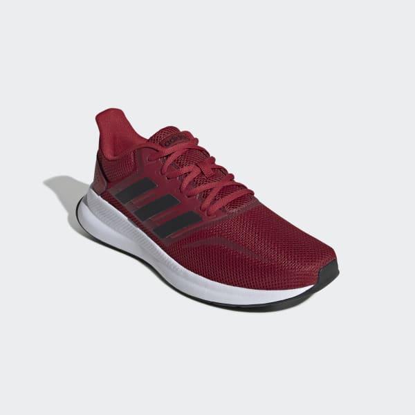 adidas Runfalcon Shoes - Burgundy | adidas US
