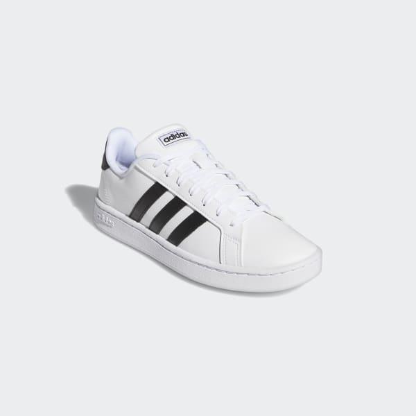 białe sneakersy męskie adidas Grand Court Base 18401326