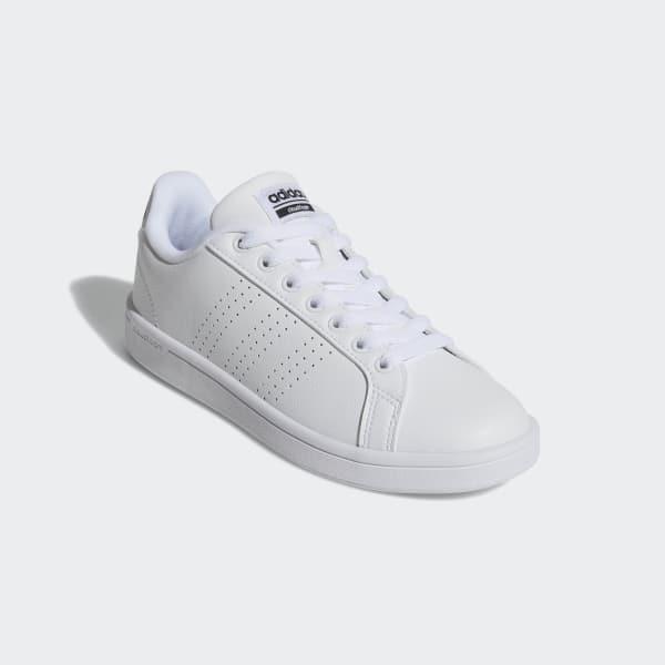 adidas Cloudfoam Advantage Clean Shoes - White  8605fd689