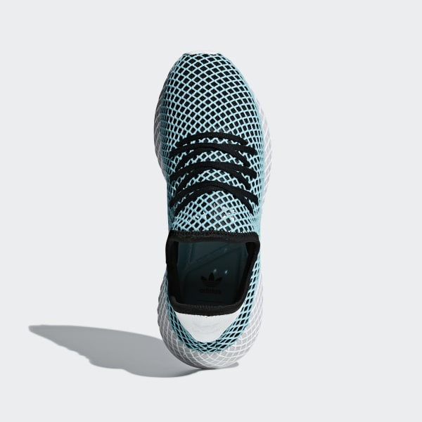 sale retailer 33827 dff65 adidas Deerupt Runner Parley sko - Turkis  adidas Norway