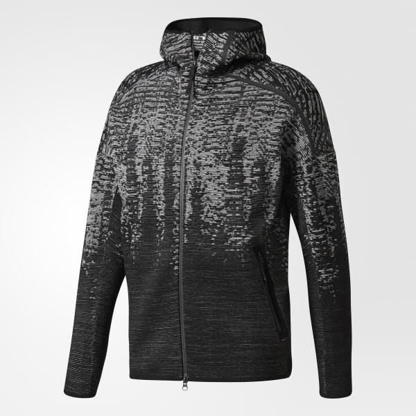 6b4144a5c3c Chaqueta con capucha adidas Z.N.E. Pulse Knit - Negro adidas | adidas España
