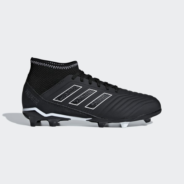 adidas Predator 18.3 Firm Ground Boots , Black
