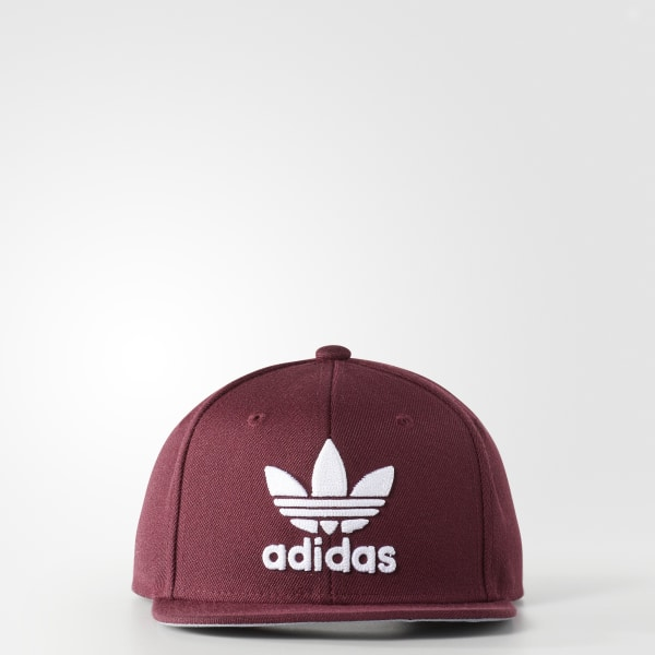 3496292b83d65 adidas Trefoil Snapback Hat - Red