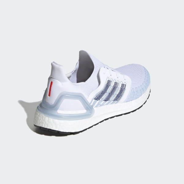 adidas ultra boost cloud white blue