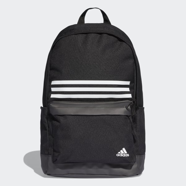 jamón Inscribirse repentino  adidas Classic 3-Stripes Pocket Backpack - Black | adidas US