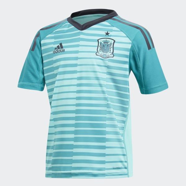 Spanien Goalkeeper Mini -Ausrüstung