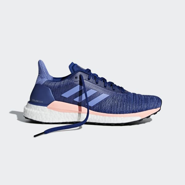 Adidas Solar Glide 19 Scarpe Running Donna Real Blue