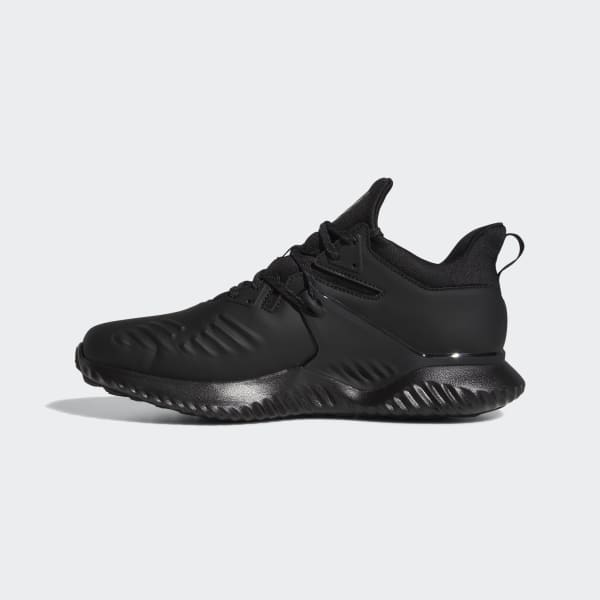 alphabounce adidas black