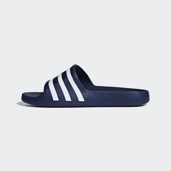 adidas Adilette Aqua Slides - Blue