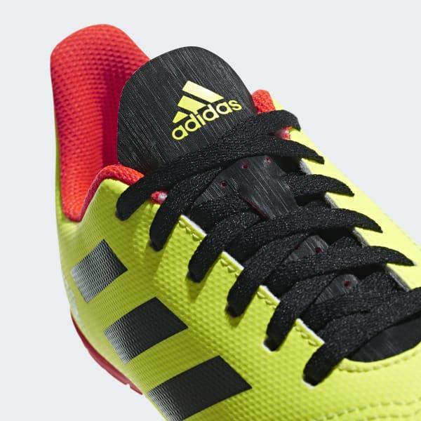 Chimpunes de Fútbol Predator Tango 18.4 Indoor Niño - Amarillo adidas  dfa9dd9ac6709
