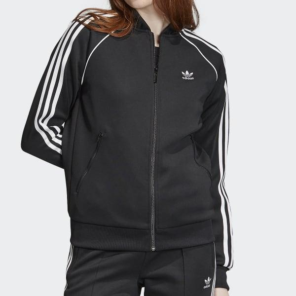 Chaqueta deportiva SST negra para mujer   adidas España