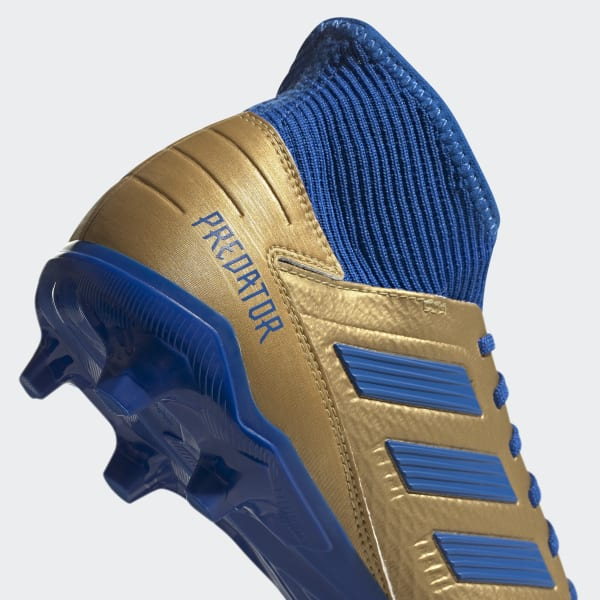 adidas Predator 19.3 Firm Ground Voetbalschoenen Goud
