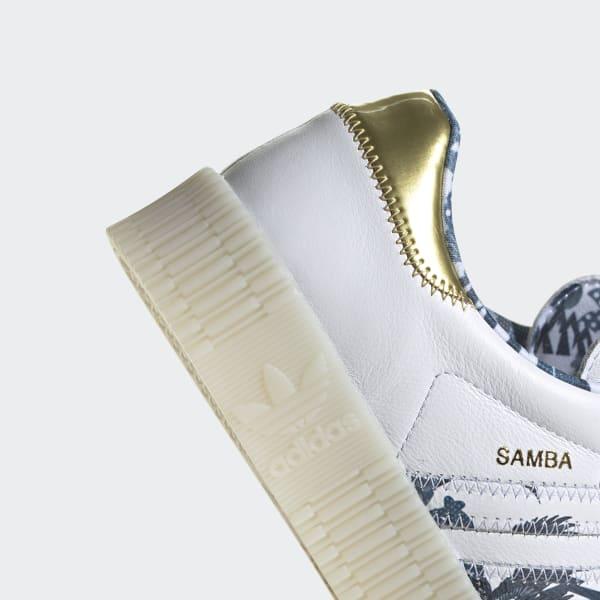Adidas SAMBAROSE Shoes Cloud WhiteGold MetallicCloud White