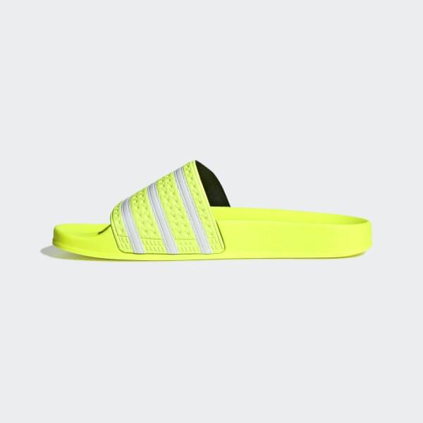 Chinelo Slide adidas Originals Adilette Amarelo