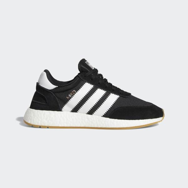 Adidas I-5923 Iniki Runner Black & Gum Bottom / BY9727 / Men's Boost Mesh White