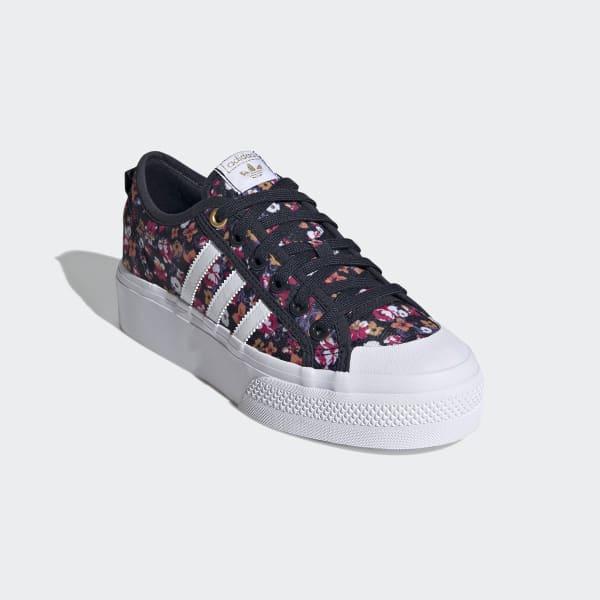 adidas Nizza Platform Shoes - Blue   adidas US