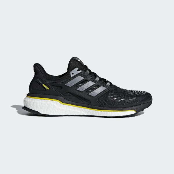 adidas Energy Boost Casual Running Neutral Shoes Black