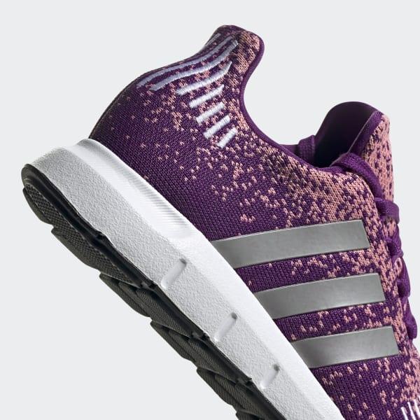 women's adidas swift run purple