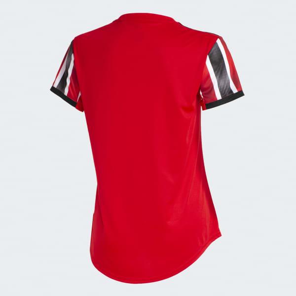 866e12bc7 Camisa São Paulo FC 2 FEMININA - Vermelho adidas   adidas Brasil