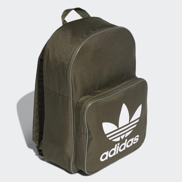 b4090011f31ac adidas Classic Trefoil Rucksack - grün