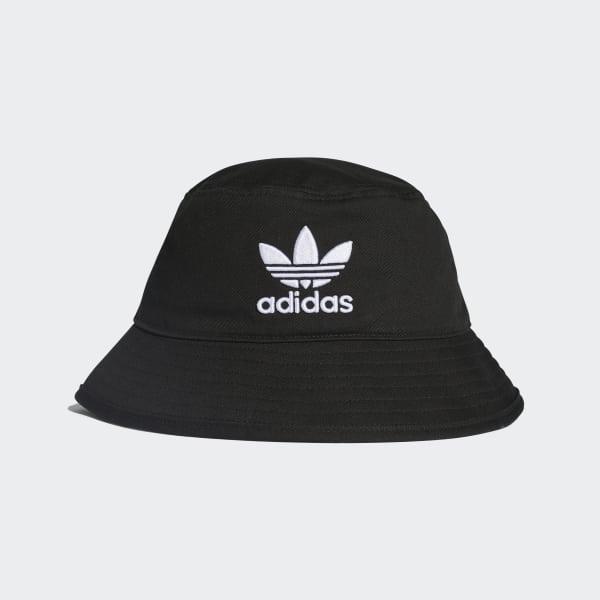 Adidas Adicolor Bucket Hat Black Adidas Uk