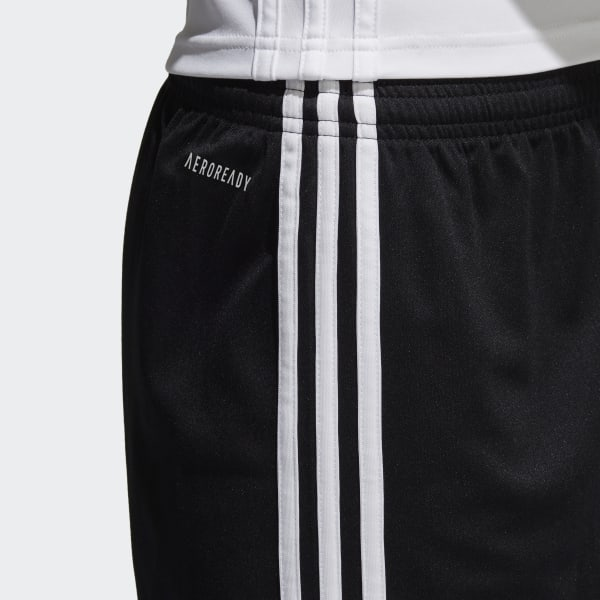 Shorts Squadra 17 Boys - Preto adidas  e9d879ddd6535
