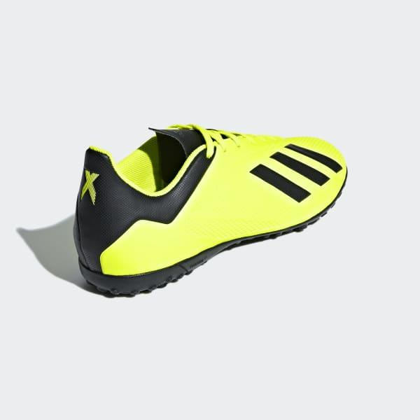 Zapatos de Fútbol X Tango 18.4 Césped Artificial - Amarillo adidas ... 0418b34d01a03