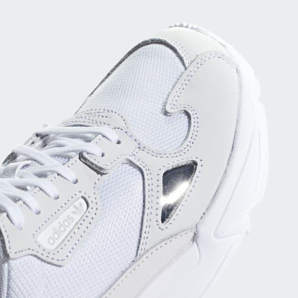 zapatillas falcon adidas branco mujer