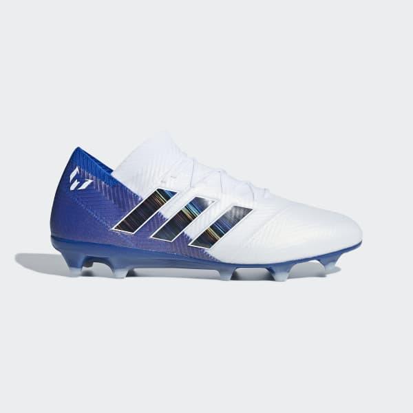 043658d31141 adidas Nemeziz Messi 18.1 Firm Ground Boots - White