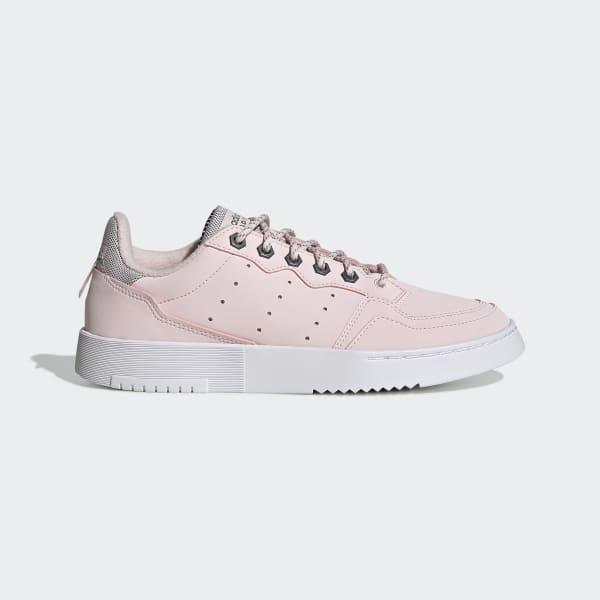 adidas Originals SUPERCOURT  - Joggesko - halo pink/trace green