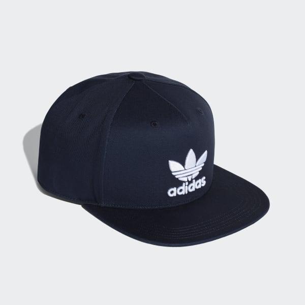 Gorra Trifolio Snap-Back - Azul adidas  51f7be44488